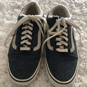 Madewell Sherpa VANS Size 9